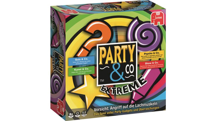 Jumbo Spiele Party Co Extreme