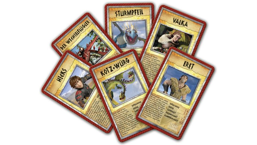 Winning Moves Top Trumps Dragons