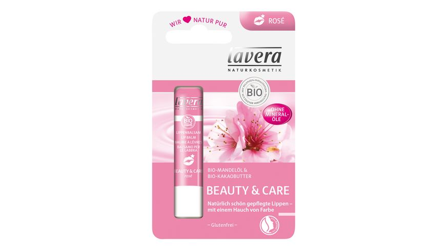 lavera Lippenbalsam Beauty Care Rose