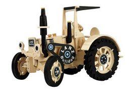 Weico Holzbausatz Traktor Lanz Bulldog