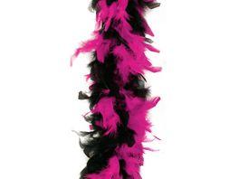 Fries 36325 Federboa 180cm schwarz pink