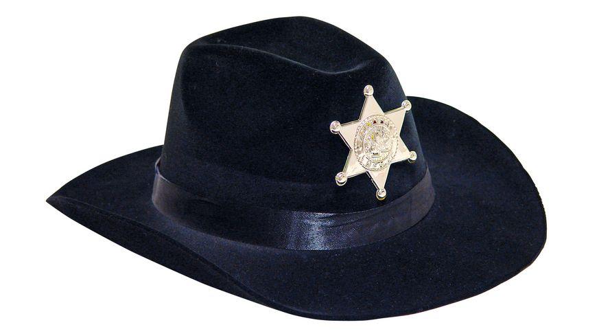 Fries Cowboy Hut schwarz