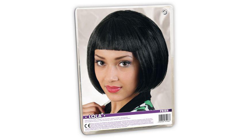 Fries 35588 Peruecke Lola schwarz SE