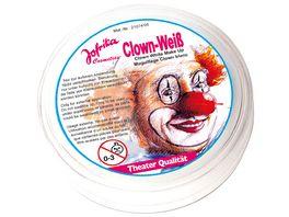 Jofrika Clown Weiss