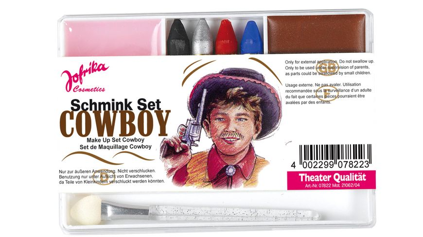 Jofrika Schminkset Cowboy