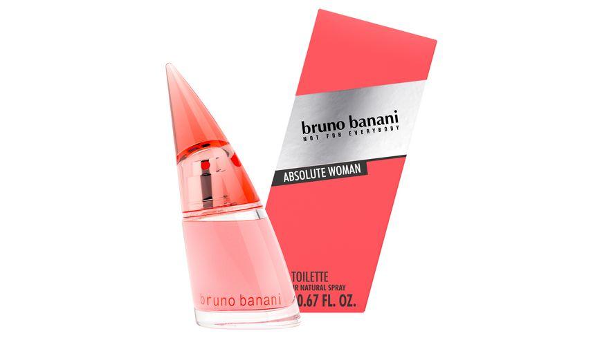 bruno banani Absolute Woman Eau de Toilette Natural Spray