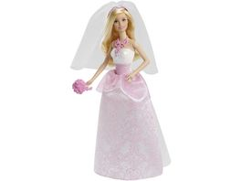 Barbie Braut Puppe blond Anziehpuppe Barbie Hochzeit Barbie Hochzeitskleid