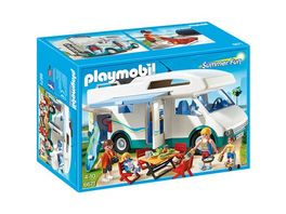 PLAYMOBIL 6671 Summer Fun Aquapark Familien Wohnmobil