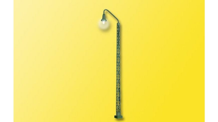 Viessmann 63851 H0 Gittermastleuchte Kontaktstecksockel LED weiss