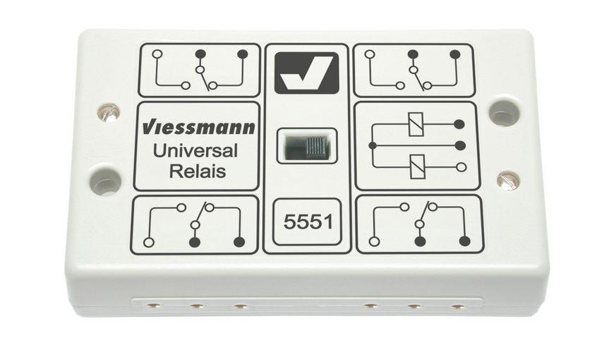 Viessmann 5551 - Universal-Relais 1 x 4UM