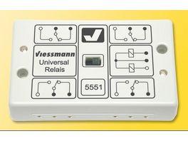 Viessmann 5551 Universal Relais 1 x 4UM
