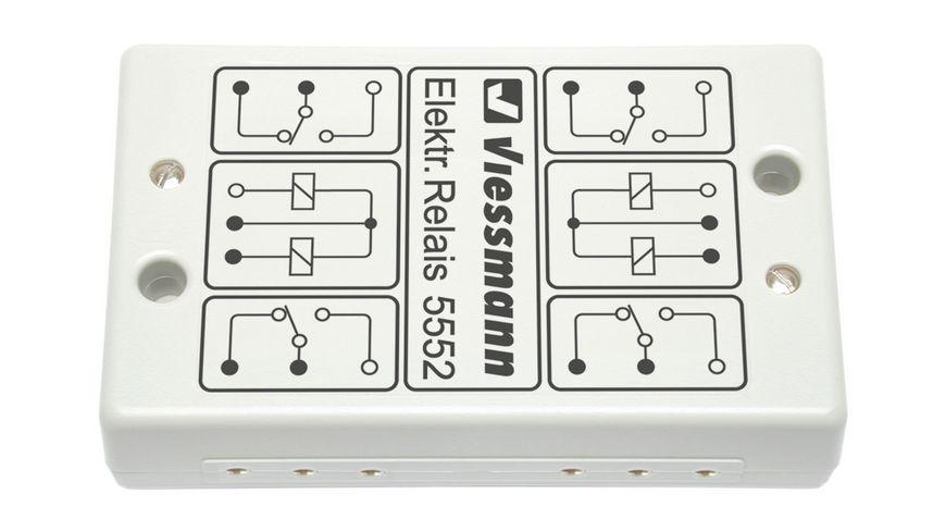 Viessmann 5552 - Elektronisches Relais 2 x 2UM