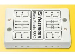 Viessmann 5552 Elektronisches Relais 2 x 2UM