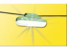 Viessmann 63662 H0 Haengelampe mit Seilaufhaengung LED weiss