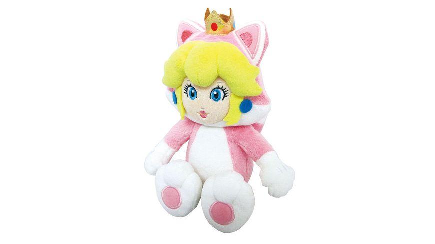 Nintendo Plüschfigur Peach Katze 25 cm