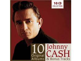 Johnny Cash 10 Original Albums