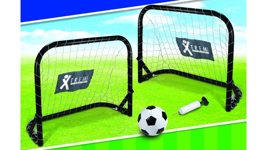 Xtrem Fussballtor Minitwin Set