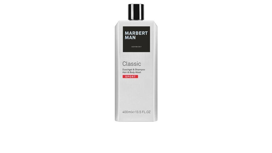 MARBERT Man Classic Sport Shower Gel Shampoo