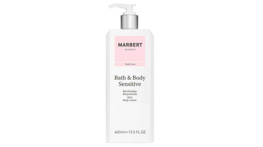 MARBERT Bath Body Sensitive Body Lotion