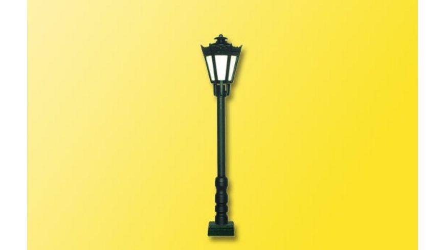 Viessmann 60701 H0 Parklaterne schwarz Kontaktstecksockel LED