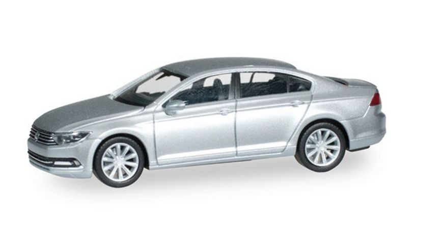 Herpa 038416 VW Passat Limousine reflexsilber metallic