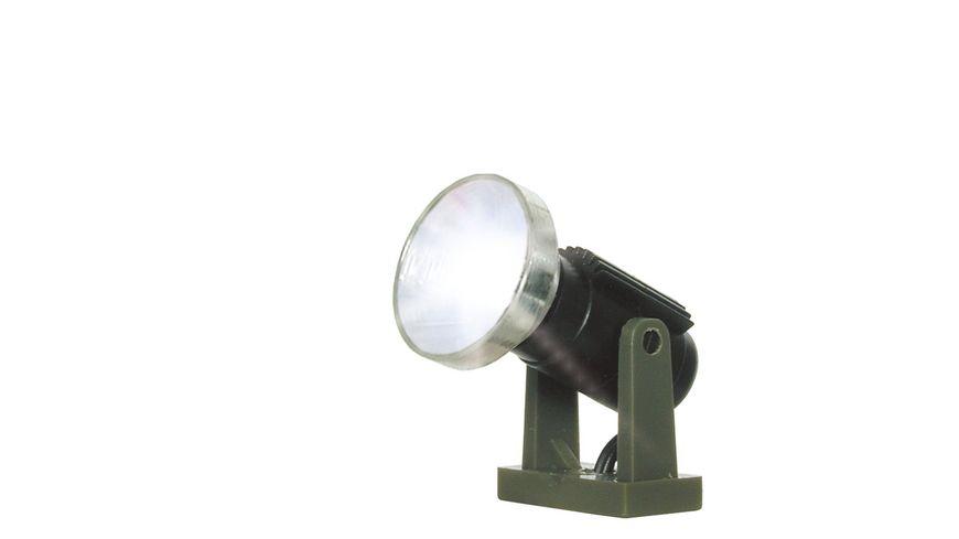 Viessmann 6530 - N Flutlichtstrahler nieder, LED weiß