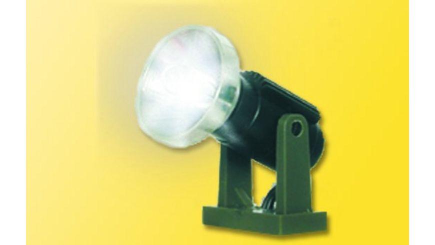 Viessmann 6530 N Flutlichtstrahler nieder LED weiss