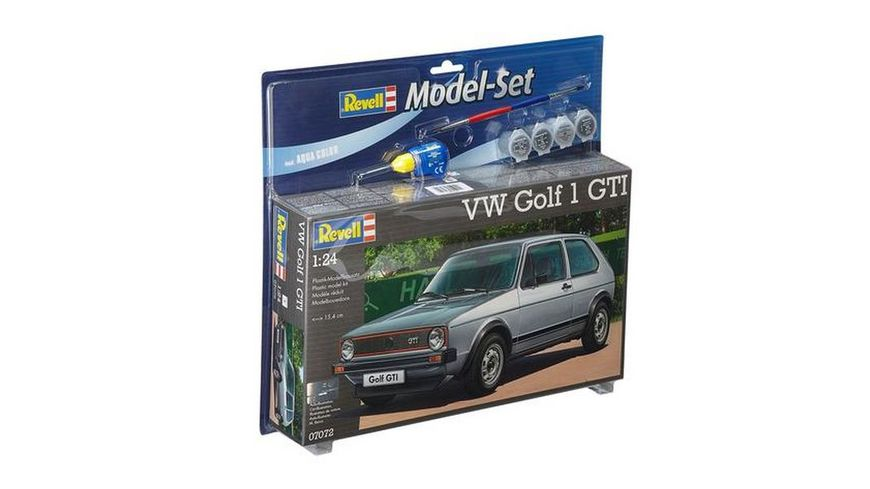 Revell 67072 Model Set VW Golf 1 GTI