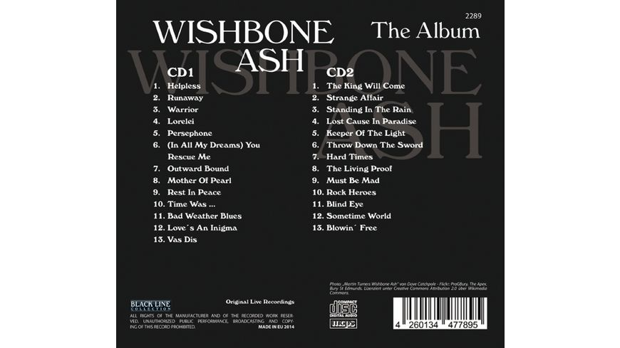Wishbone Ash The Album