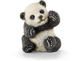Schleich 14734 Wild Life Panda Junges spielend