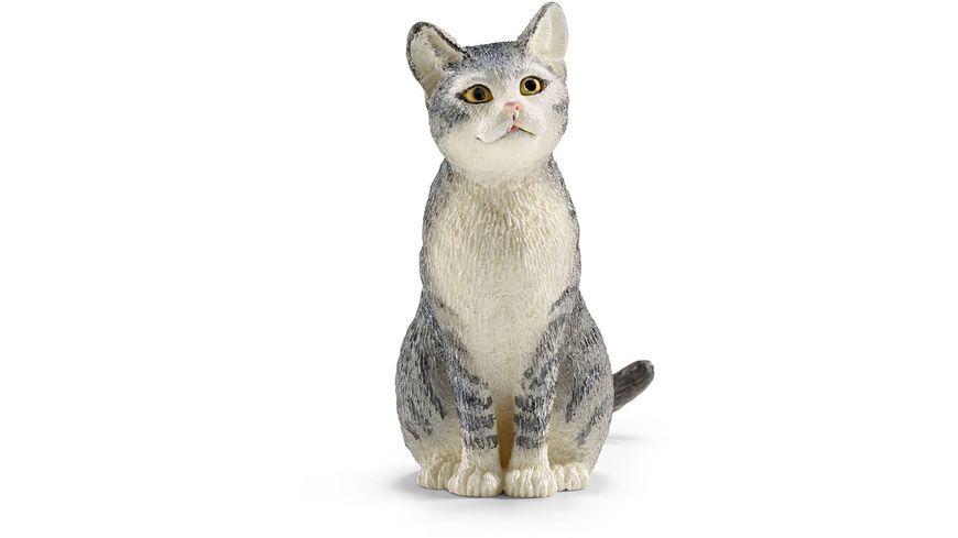 Schleich 13771 Farm World Katze sitzend