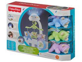 Fisher Price 3 in 1 Traumbaerchen Baby Mobile Spieluhr Nachtlicht mit Musik