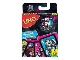 Mattel Games UNO Monster High