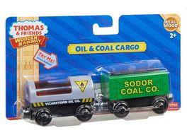 Fisher Price Thomas und seine Freunde Oel und Kohlefracht Holz