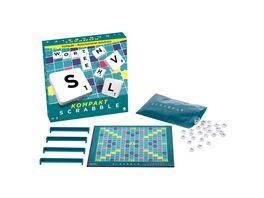 Mattel Games Scrabble Kompakt Gesellschaftsspiel Brettspiel Reisespiel
