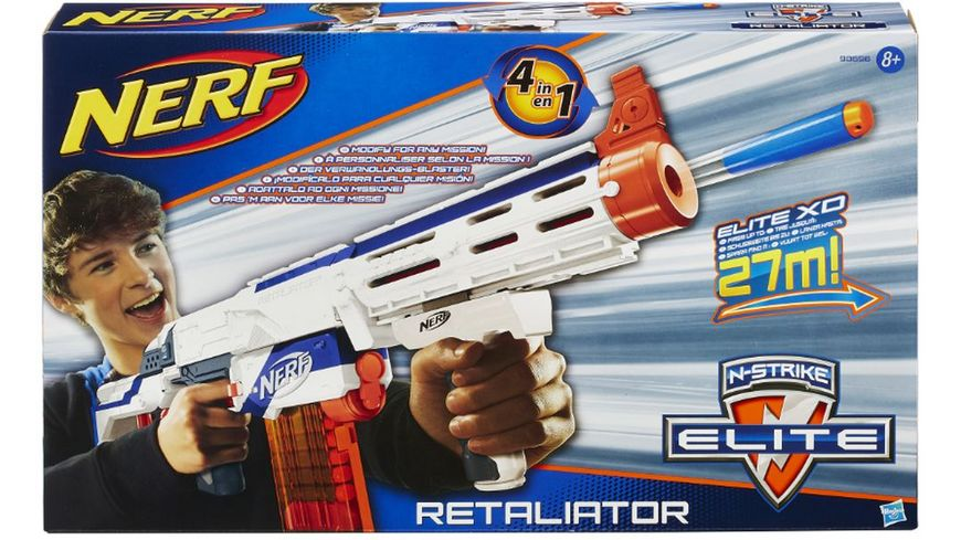 Hasbro Nerf N Strike Elite XD Retaliator