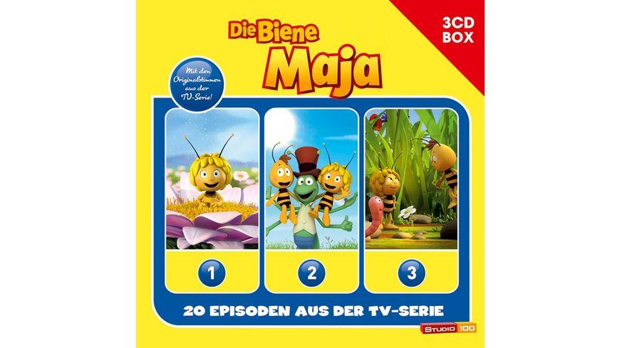 3 CD Hoerspielbox Zur Neuen TV Serie Cgi Vol 1