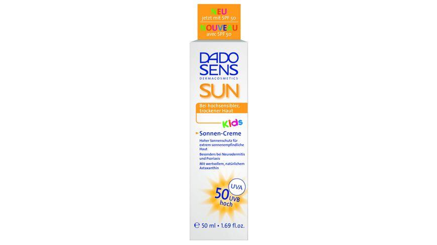 DADO SENS SUN Sonnen Creme Kids LSF 50