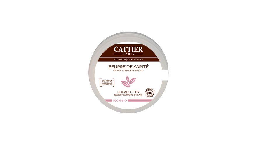 CATTIER Sheabutter 100 biologisch