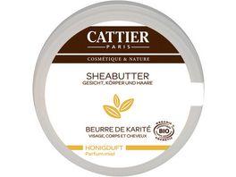 CATTIER Sheabutter mit Honigduft 100 g