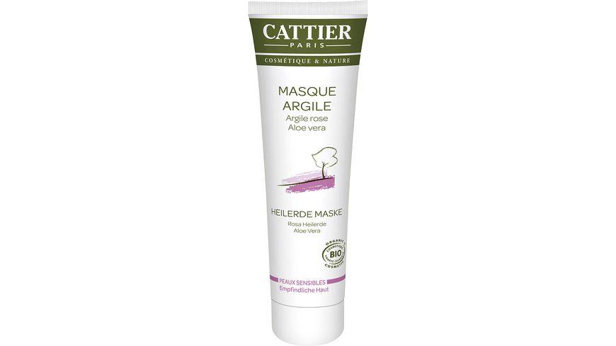 CATTIER Rosa Heilerde Maske fuer empfindliche Haut