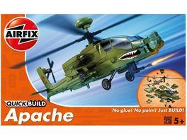 Airfix J6004 Modellbausatz Apache Quick Build