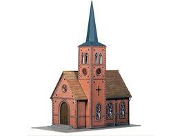 Faller 130239 H0 Kleinstadt Kirche