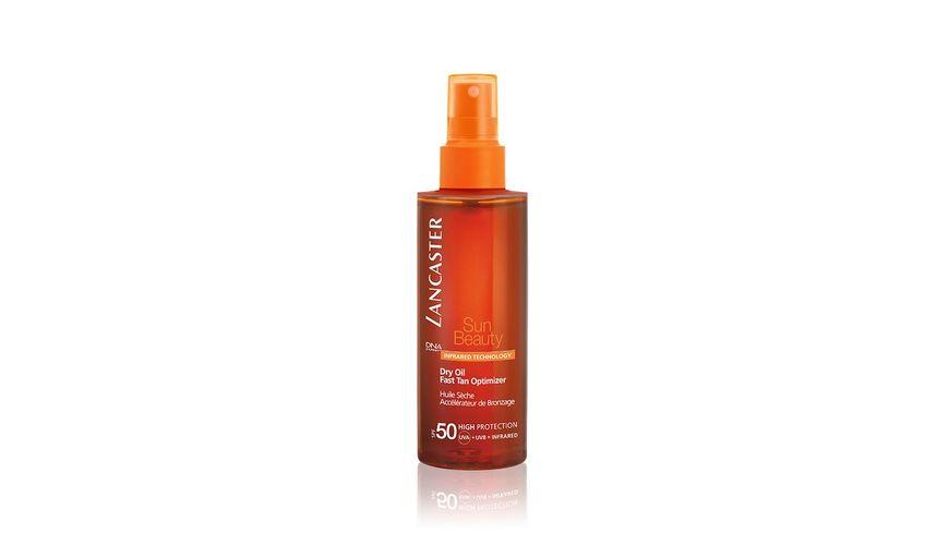 LANCASTER Sun Beauty Dry Oil Fast Tan Optimizer LSF 50
