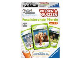 Ravensburger tiptoi Wissen Quizzen Faszinierende Pferde