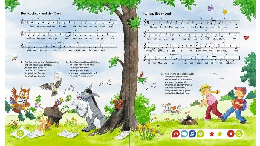 Ravensburger Bilderbuch tiptoi Bilderbuch Meine schoensten Kinderlieder