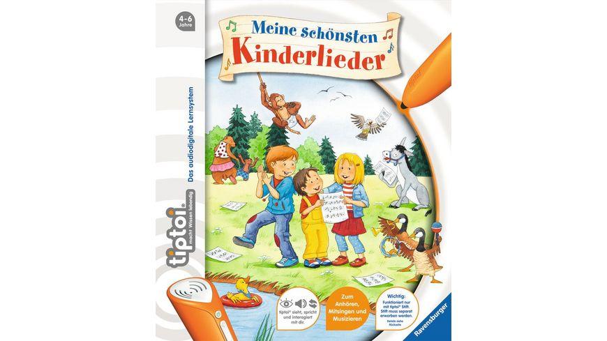 Ravensburger tiptoi Bilderbuch tiptoi Meine schoensten Kinderlieder