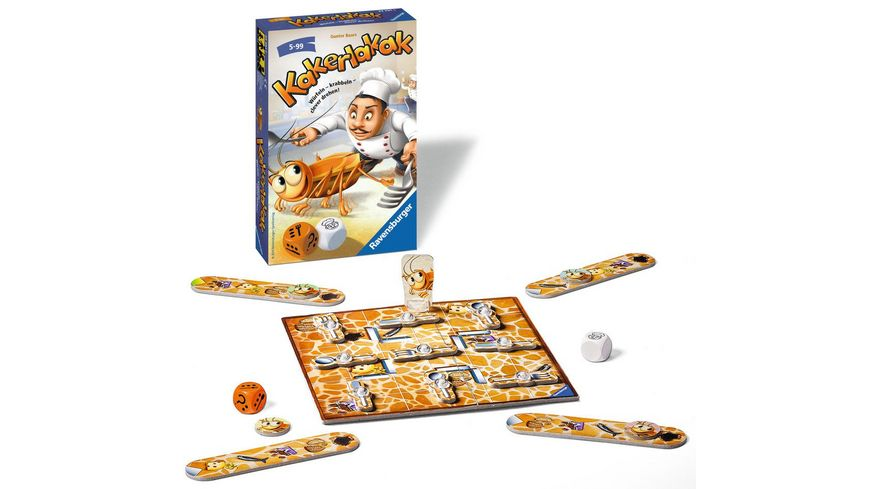 Ravensburger Spiel Mitbringspiel Kakerlakak MBS