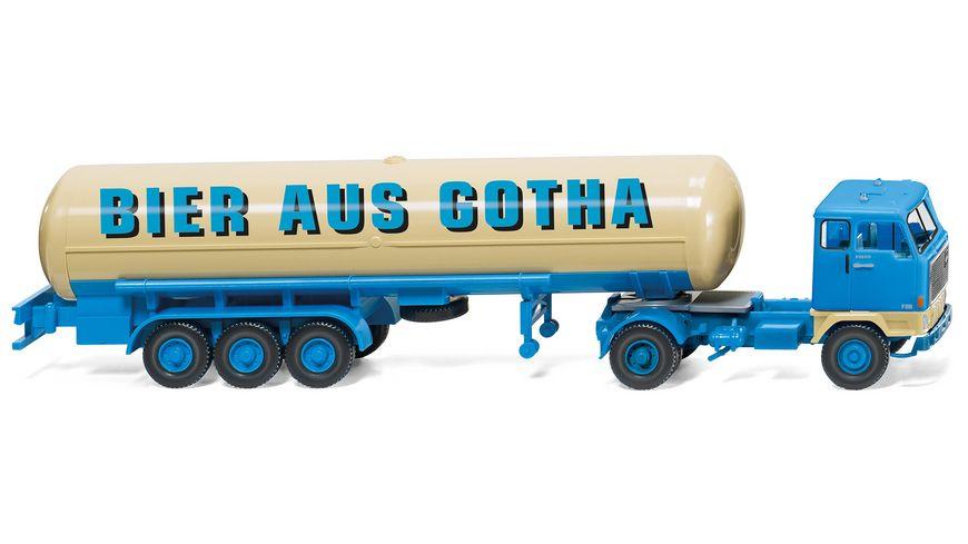 WIKING 078603 Tanksattelzug Volvo F89 Bier aus Gotha