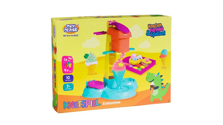 Müller - Toy Place - Eismaschine - kneten - formen - basteln